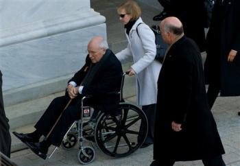 Cheney-wheelchair